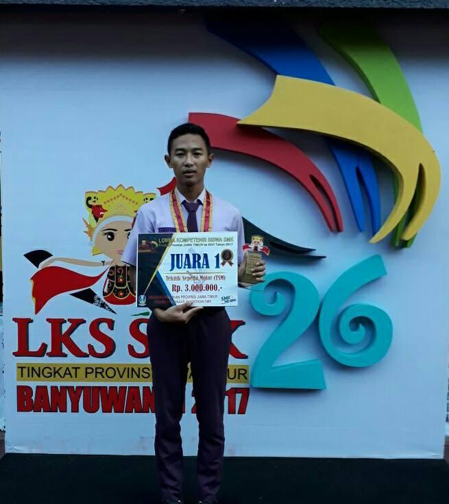 SMK Negeri 1 Geger Sabet Juara 1 LKS SMK Jatim 2017