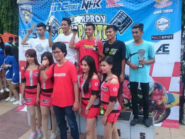 SMKN 1 Geger Raih Peringkat 5 Event Kejurda Road Race Seri IV Jawa Timur