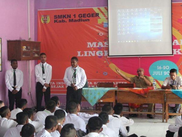 Masa Pengenalan Lingkungan Sekolah SMK Negeri 1 Geger