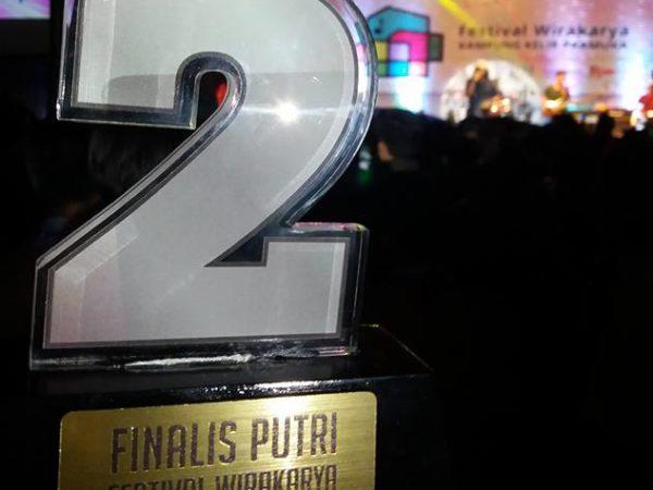 Peringkat 2 Dan Lolos Final Festival Kecerdasan Tingkat Provinsi