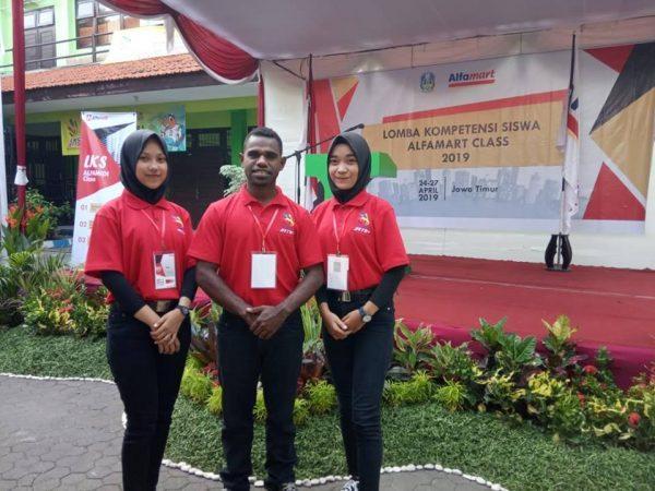 Anak Papua pun BISA, LKS Alfamart Class 2019