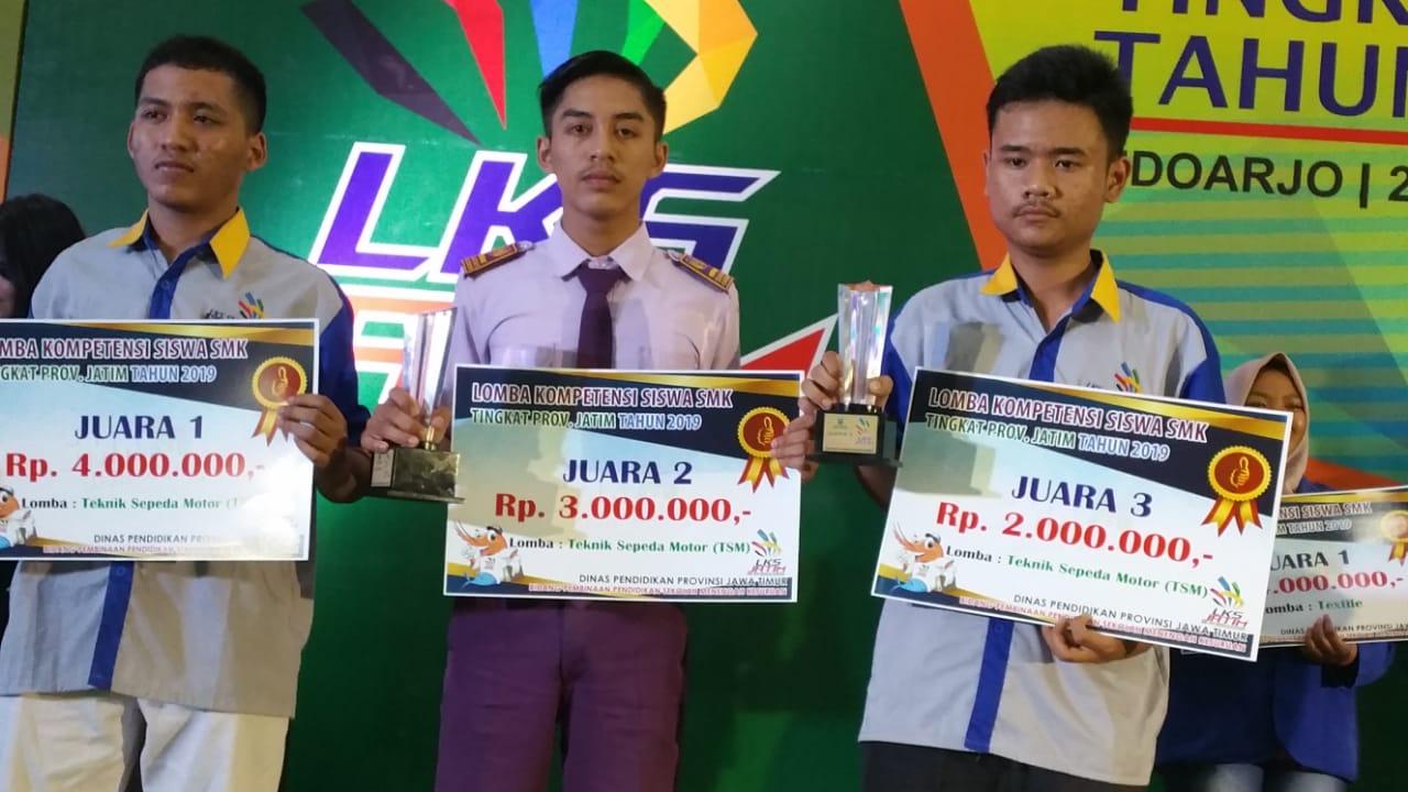 Juara 2 LKS TSM 2019 Jawa Timur