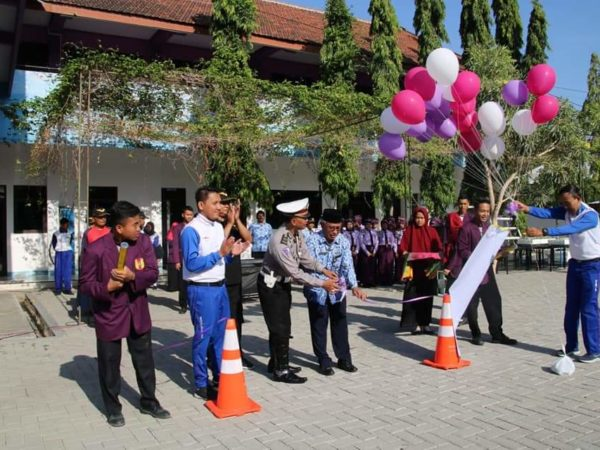 Peresmian SMK Binaan Safety Riding MPM Honda