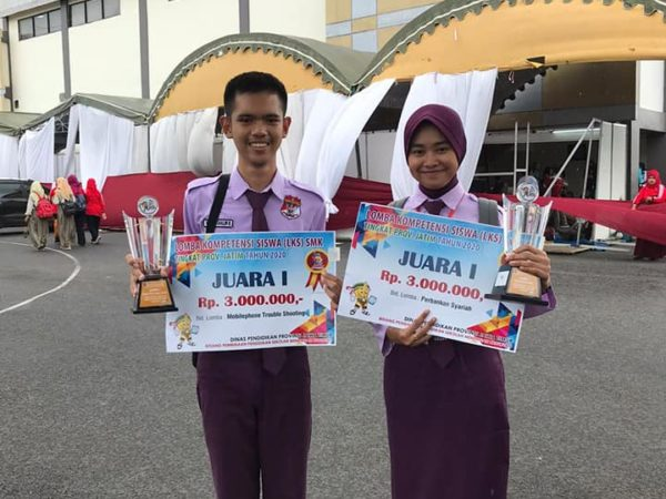 Raih Juara 1 LKS Provinsi Jawa Timur
