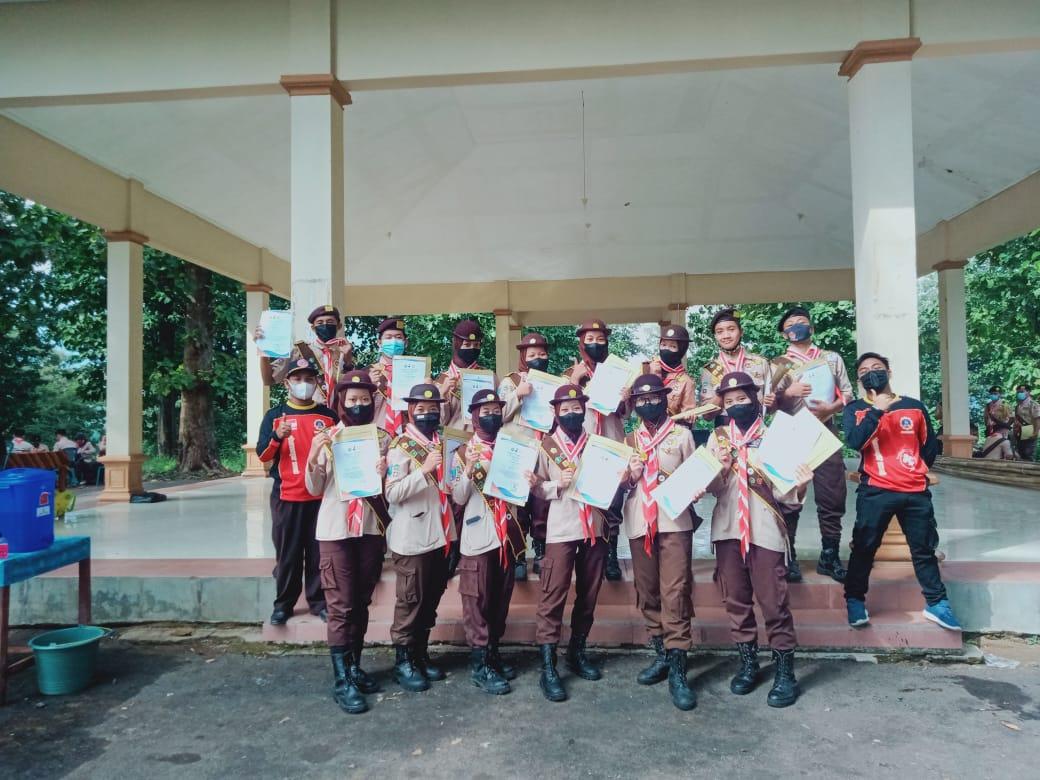 Pelantikan Pramuka Garuda Siswa SMKN 1 Geger